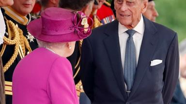 Prince Philip attends his final ceremonial engagement ahead of retirement