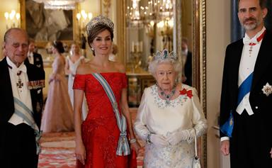 Ay, Caramba! Duchess Kate and Queen Elizabeth are a glittering delight at the Royal Spanish Banquet