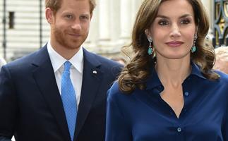 Prince Harry, Queen Letizia