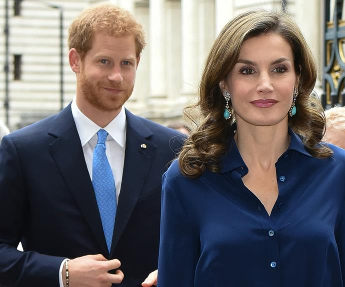 Prince Harry, Queen Letizia