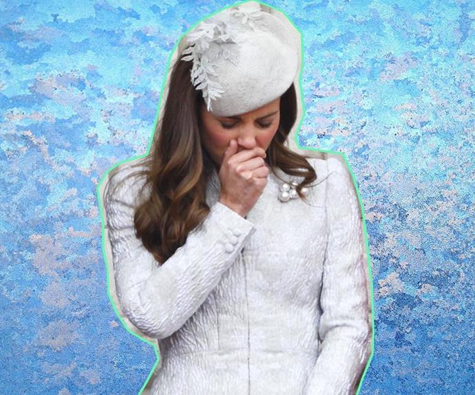 cure cold and flu Duchess Catherine