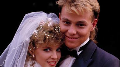 Remembering Scott and Charlene's iconic Neighbours wedding