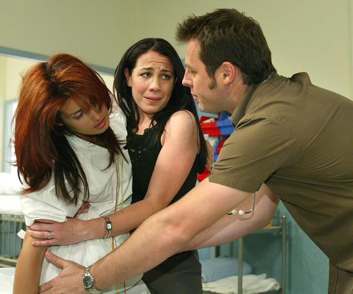 Leah (Ada Nicodemou), Sally (Kate Ritchie) and Flynn (Martin Dingle Wall)