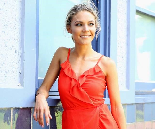 We're here for Sam Frost's*Home and Away* debut.