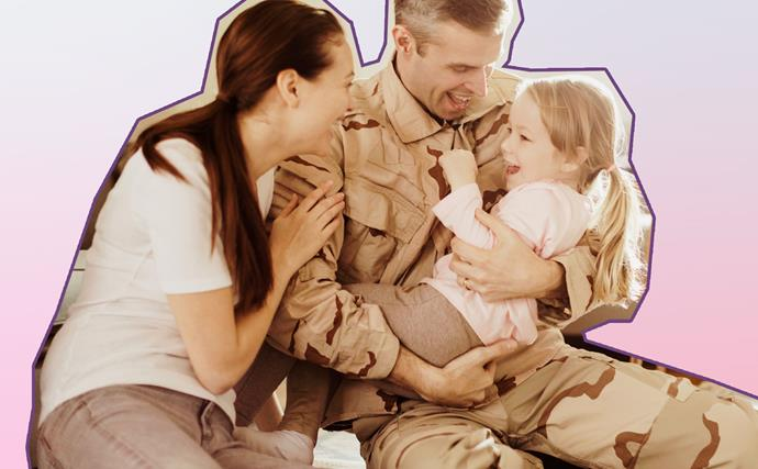 """""""What's it like being a military mum?"""""""