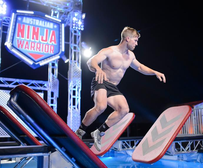 Ryan Australian Ninja Warrior