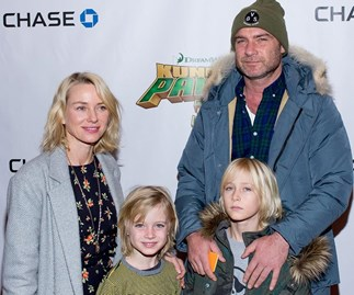 Liev Schreiber and his son are the real superheroes at Comic-Con