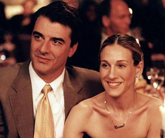Chris Noth and Sarah Jessica Parker in Sex and the City