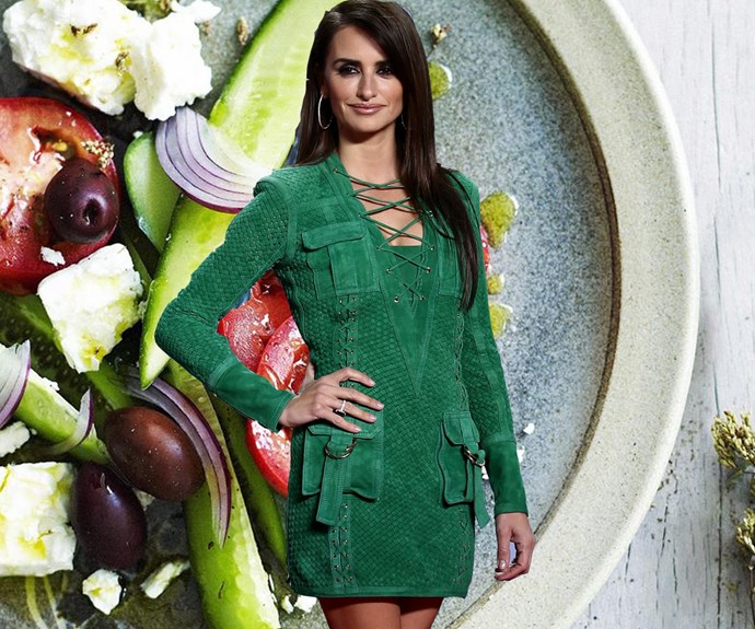 Penelope Cruz and her mediterranean diet