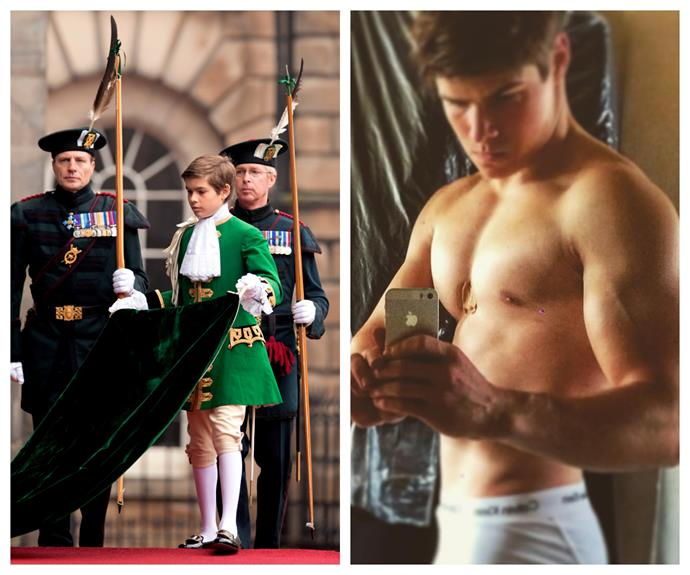 Arthur Chatto, the 18-year-old grandson of Princess Margaret, grandnephew of Queen Elizabeth II, and second cousin of William and Harry is causing an internet meltdown. And we can certainly see why -- that's quite the transformation!