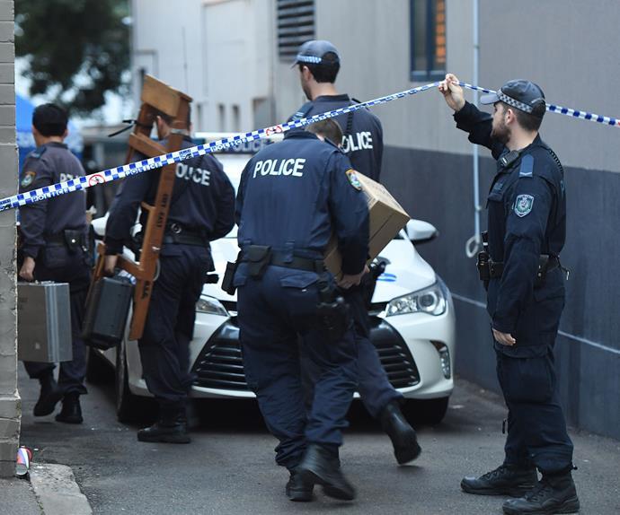 Extensive anti-terrorism raids continue in Sydney