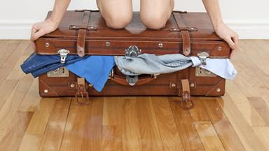 Watch this woman fit more than 200 items one suitcase