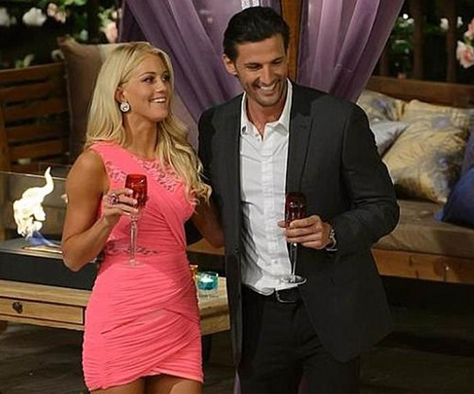 Ali Oetjen and Tim Robards on The Bachelor