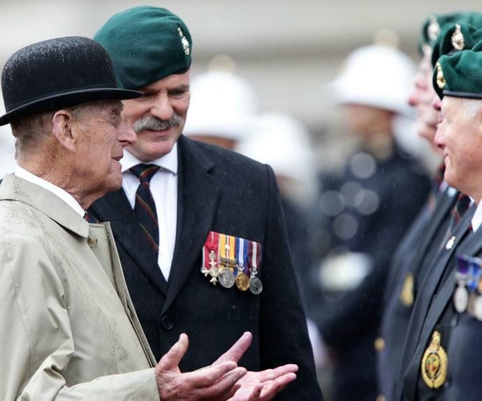The even was a fitting end to Prince Philip's royal duties -- after all, he was first appointed Captain General of the Royal Marines on June 2, 1953.
