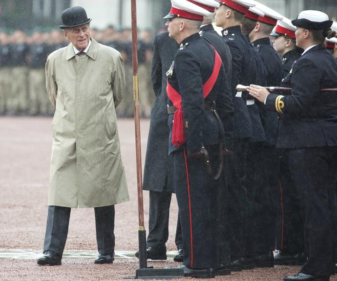 The Duke of Edinburgh attended his last official royal engagement on Wednesday August 4 2017, at the Captain General's Parade on the forecourt of Buckingham Palace.