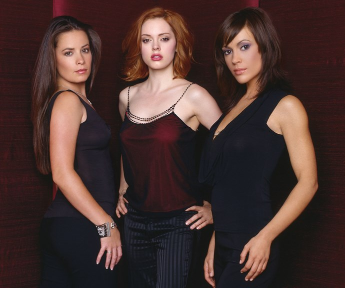 Holly Marie Combs, Rose McGowan and Alyssa Milano
