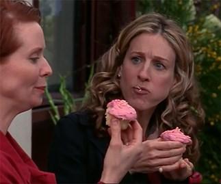 carrie miranda SATA cupcake food