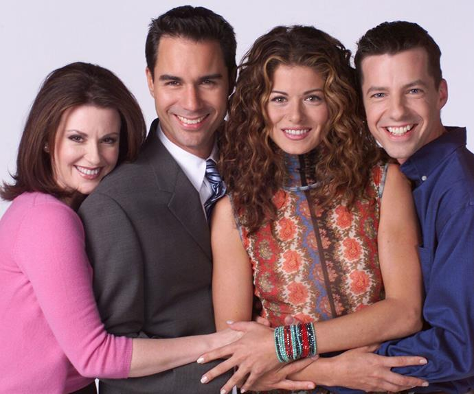 Megan Mullally, Eric McCormack, Debra Messing, Sean Hayes