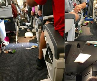 10 people in hospital after serious turbulence on American Airlines flight