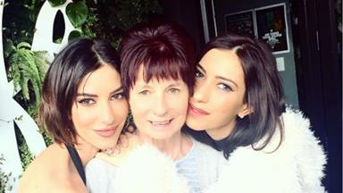 The Veronicas rush home from LA to aid their mother through her mystery illness