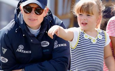Mia Tindall gallops straight into our hearts during her latest outing