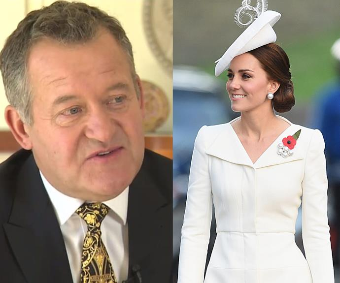 """""""Diana certainly had it [the X-factor]. Kate doesn't,"""" Paul said of the Duchess."""