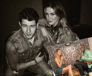 Case of the ex: Delta Goodrem and Nick Jonas reunite