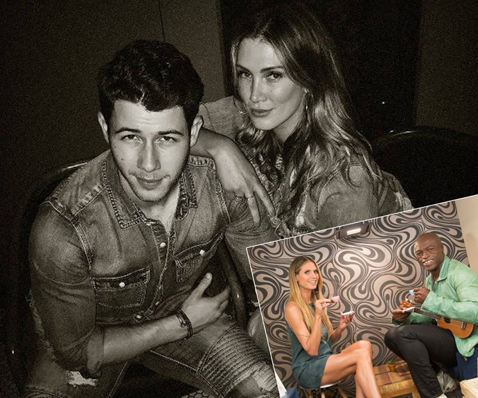 Case of the ex: Delta Goodrem and Nick Jonas reunite