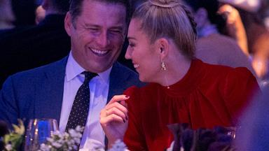 The look of love! Karl Stefanovic and Jasmine Yarbrough are picture perfect at DJs latest event