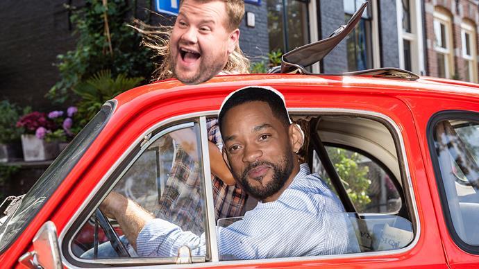 James Corden Will Smith carpool karaoke