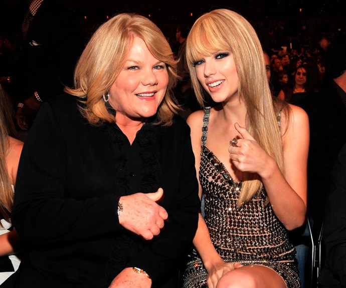 Taylor Swift and her mum, Andrea Swift