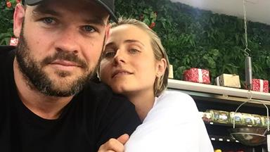 Tessa James and husband Nate Myles are expecting their first child together