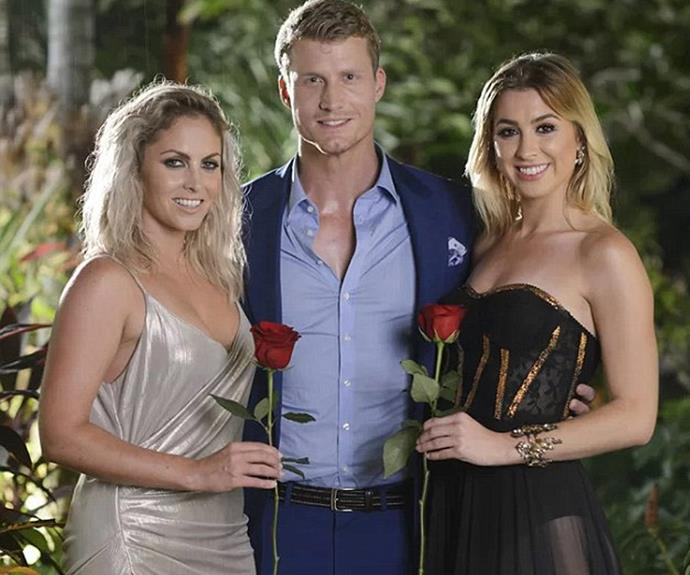 Richie's decision to pick Alex over Nikki on the 2016 series of *The Bachelor* divided the nation. *(Image: Network 10)*