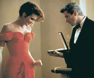 Richard Gere and Julia Roberts