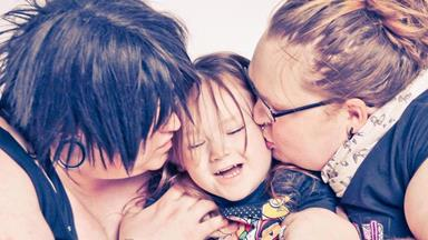 These transgender parents explain they are raising a person, not a son