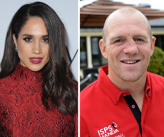 Meghan Markle and Mike Tindall
