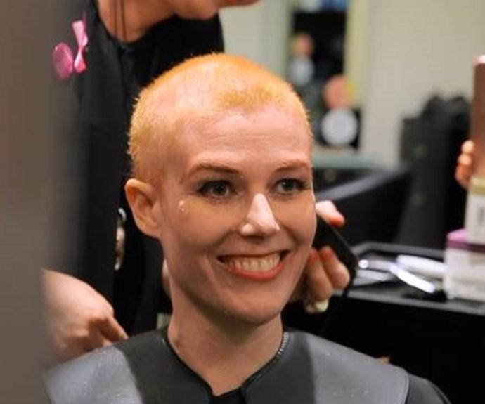 Talia's Pink Scissor Campaign experience