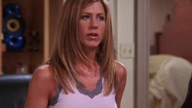 Jennifer Aniston addresses her visible nipples on 'Friends' and we love her for it