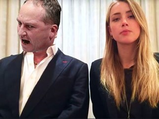 Amber Heard rinses Barnaby Joyce over citizenship snafu