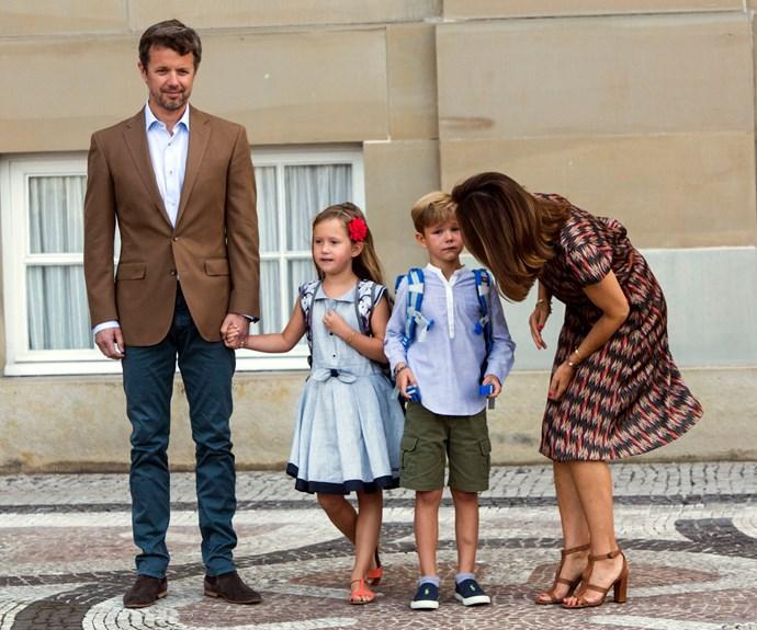 Princess Mary, Prince Frederik, Prince Vincent, Princess Josephine