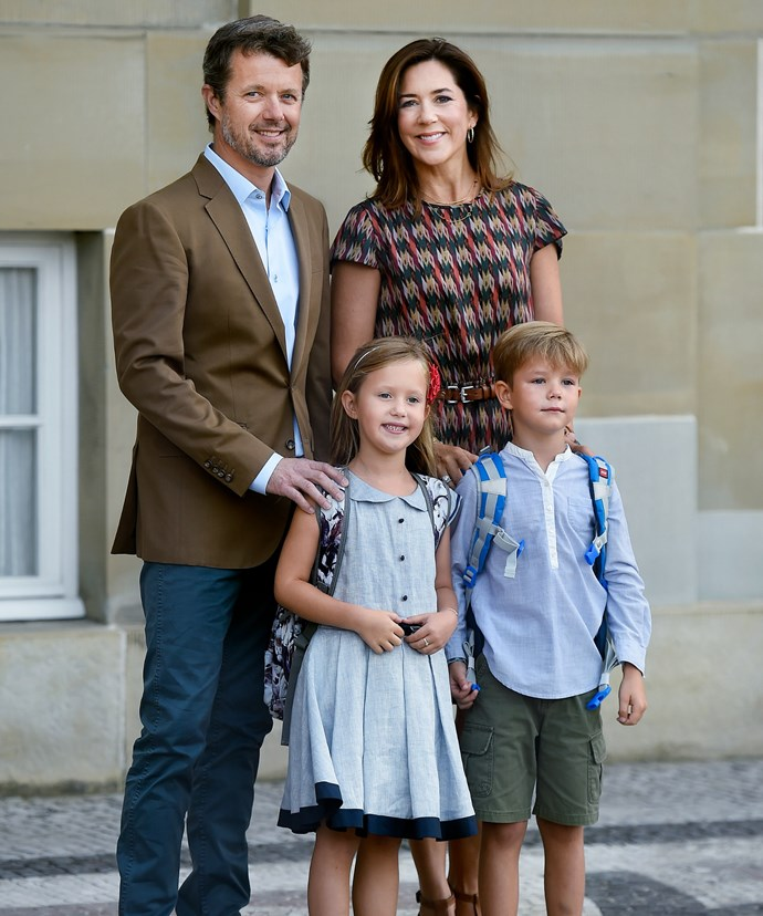 Princess Mary and Prince Frederik looked incredibly proud of their youngest children.
