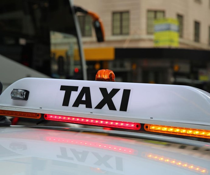 What's happening with the taxis at Melbourne Airport?
