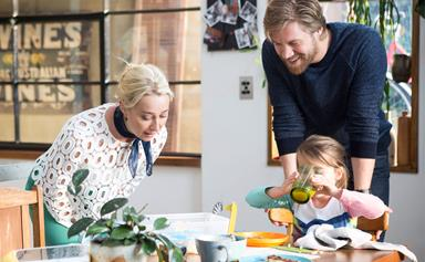 Offspring's Nina and Harry are expecting