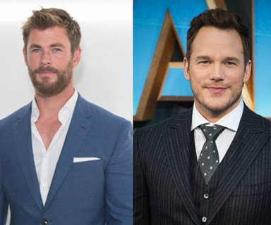 Chris Hemsworth was super intimidated when he met Chris Pratt and yes, we're melting