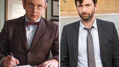 David Tennant and Michael Sheen to star in Good Omens