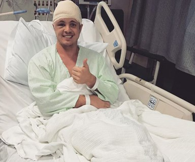 Celebrity support floods in for Johnny Ruffo after shocking brain cancer announcement