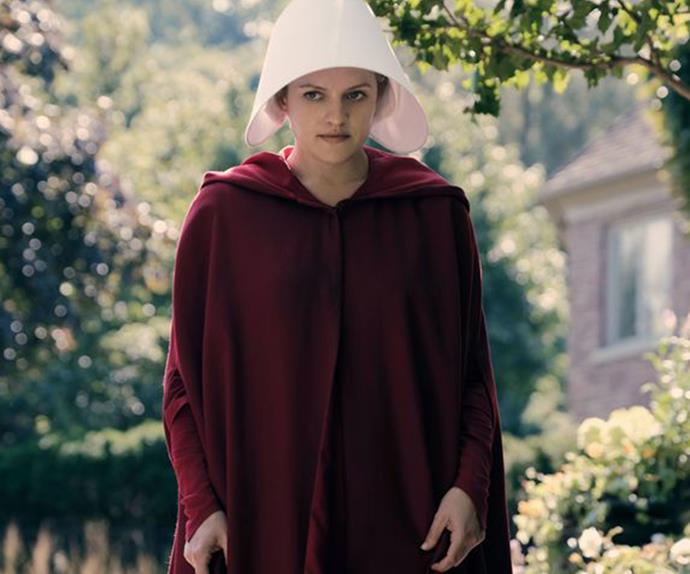 Elisabeth Moss defends Scientology after fan compares it to 'The Handmaid's Tale'
