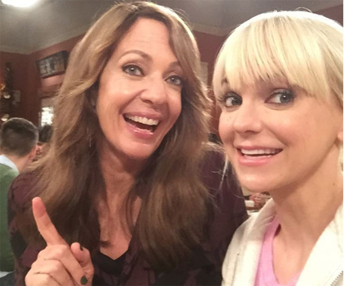 Allison Janney and Anna Faris