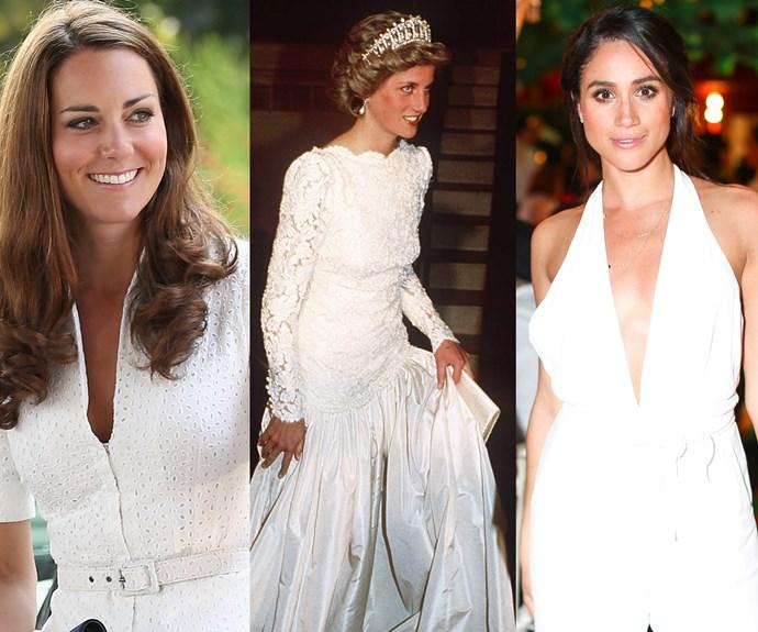 Duchess Catherine, Princess Diana, Meghan Markle