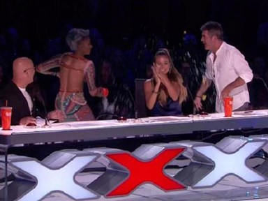 Mel B storms off America's Got Talent after Simon Cowell's 'wedding night' joke